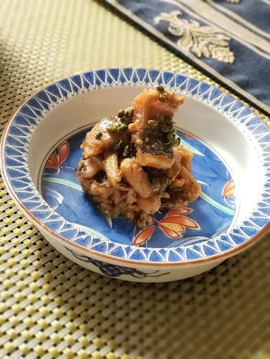 穴子と山椒の佃煮