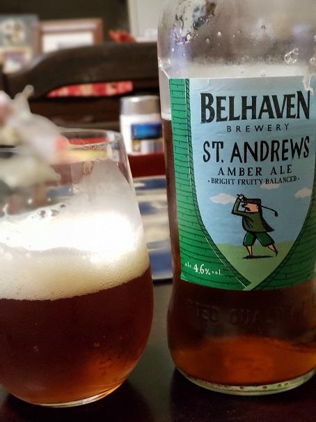 スコットランドのセントアンドリュースというビール
