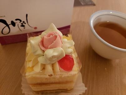三ツ星のバターケーキ