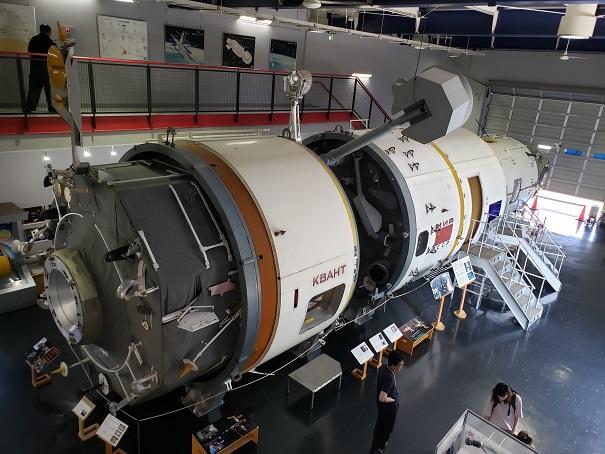 科学博物館のソユーズ