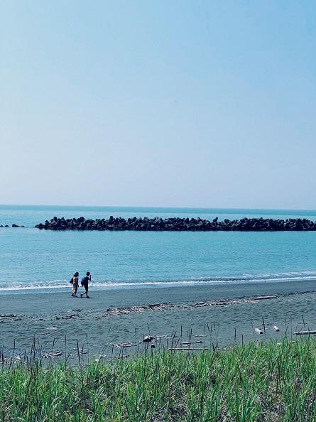 苫小牧の海