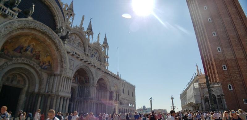 聖マルコ大聖堂とサンマルコ広場