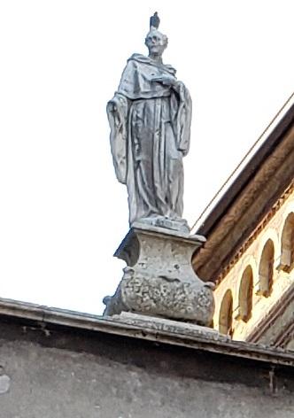 ジローラモ・フラカストロというルネサンス期の文学者の彫像