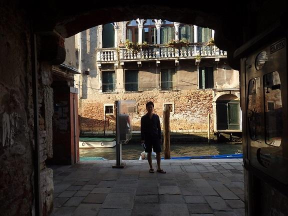 ヴェネツィアの行き止まり運河