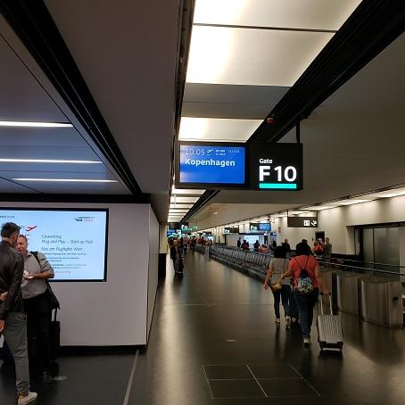 ターミナルのゲート