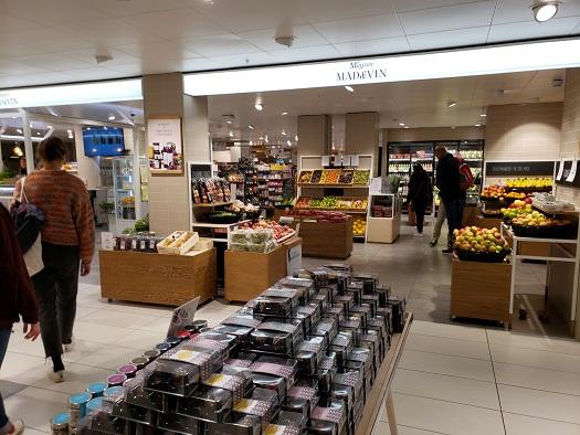 Magasin du Nordの食料品売り場