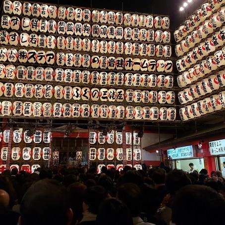 鳳神社本殿の提灯