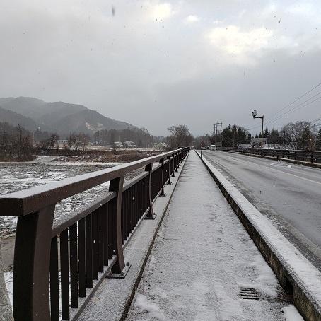 鹿島橋の風景