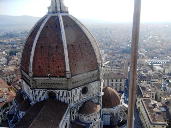 フィレンツェのドォーモの屋根