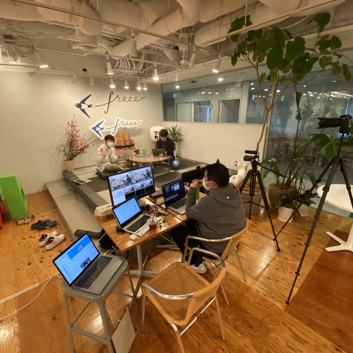 New社式の asobiba スタジオ