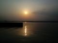 七ヶ浜町 代ヶ崎港の夕日⑥