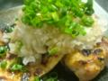 鶏のグリル、おろしポン酢で…食欲の秋