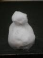 昨日の雪だるまさん。派手好みから無駄を省いたわび数奇へ。