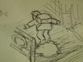 通学中 わざわざ歩く 雪の上 #jhaiku だよね〜オレもやるし