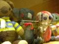 繊維の街日暮里の恒例の催し。ぬいぐるみはEDWIN本拠だからデニムか…