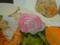 昨日のオシャンティー・ランチで食べたサラダの、ハットリくんラディ