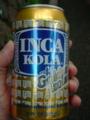 インカコーラ。コーンシロップが向こうっぽいのかも。
