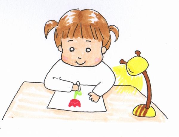 子ども用デスクライト