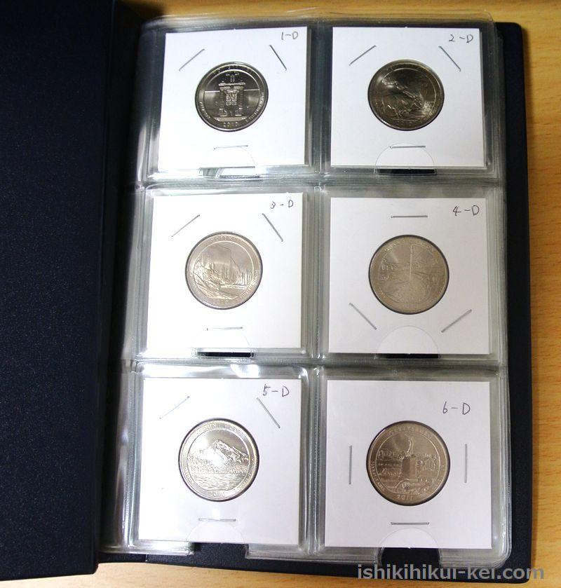 アメリカ・ザ・ビューティフル25セント硬貨シリーズ