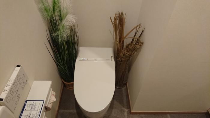 ひなたカフェのトイレ