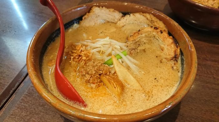 北海道味噌炙りチャーシュー麺
