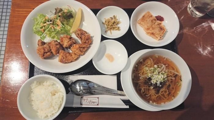 野杏のコース料理