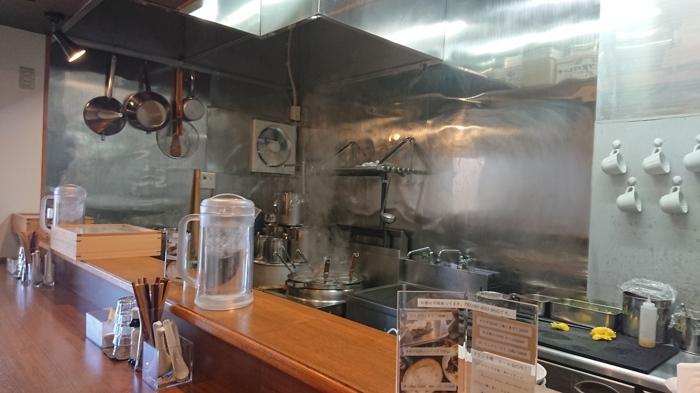 厨房の様子