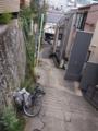 [201211四谷富士見][ハイクオフ][階段]