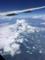 羽が撓んで見える。富士山。
