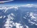 [2015家族沖縄][空撮]甲府盆地を望む