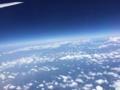 [2015家族沖縄][空][空撮]地球は丸かった