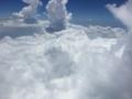 [2015家族沖縄][空][空撮]沖縄の雲の上