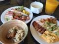 [2015家族沖縄][沖縄]ホテルの朝食