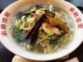 秋野菜の入ったタンメン