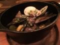 3種の貝の白ワイン蒸し