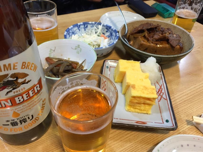 [2015ハイク忘年会][ビール]