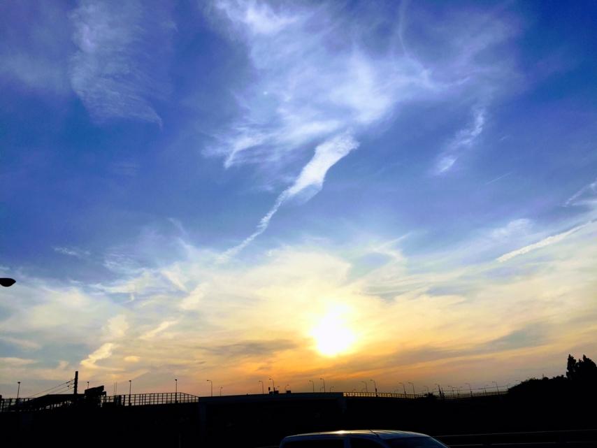 [光][夕][天体][空]