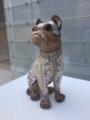 エミール・ガレ「犬型陶器」POLA美術館
