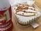 キャラメルクリームのパンケーキ