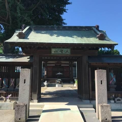 行田市・成就院の山門