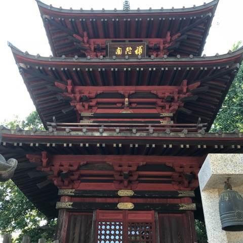 行田市・成就院の三重の塔