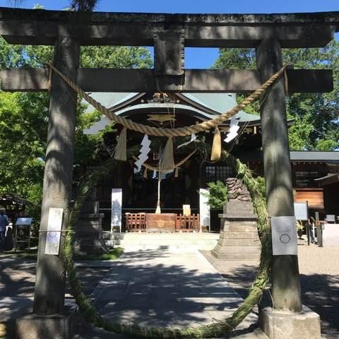 行田八幡神社の入口