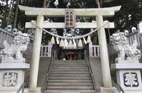千葉県習志野市・大宮大原神社の鳥居