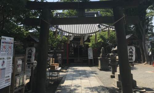 龍ヶ崎八坂神社