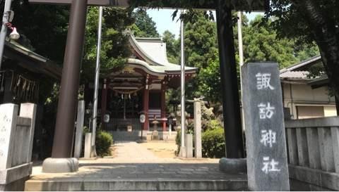 柏諏訪神社