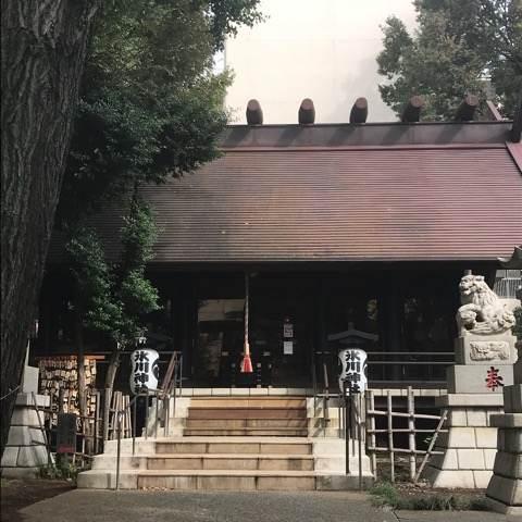 杉並区・気象神社