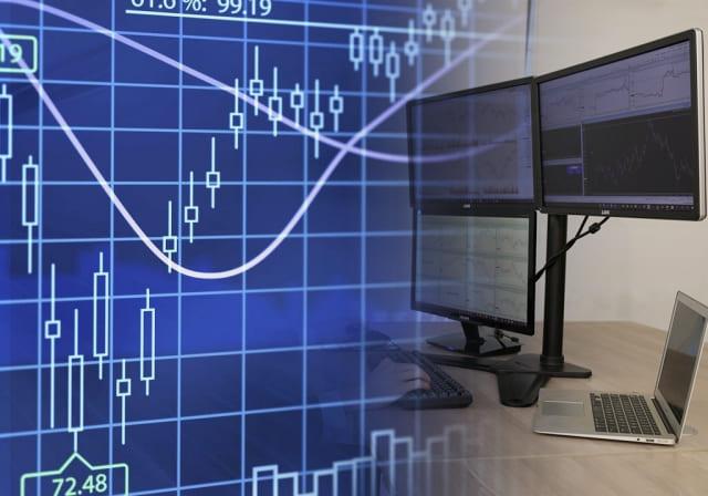 パソコンでFXのチャートを表示