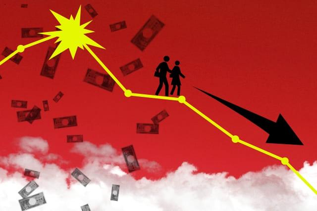 油断や慢心で投資に失敗して転落していく人