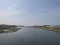 ある日の多々良川