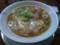 スープ刀削麺を頂いております!